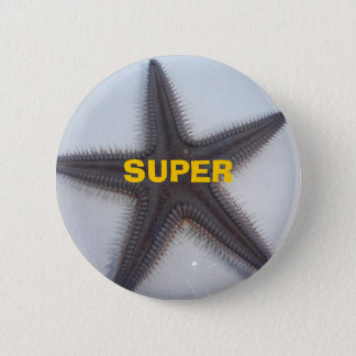 Superstar 6 Cm Round Badge