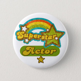 Superstar Actor 6 Cm Round Badge