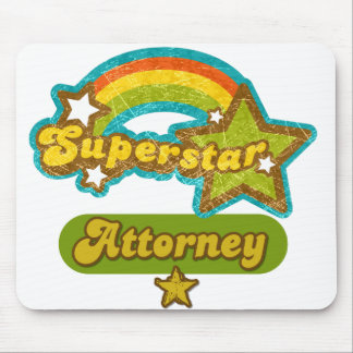 Superstar Attorney Mouse Pad