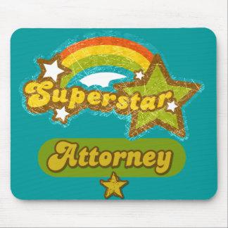 Superstar Attorney Mousepad