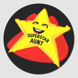 superstar aunt sticker!