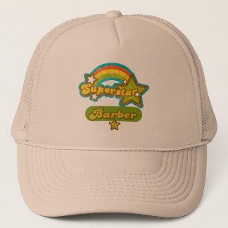 Superstar Barber Trucker Hat