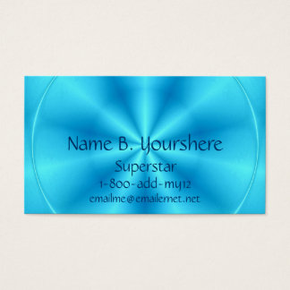 Superstar Blueberry Color Business Card