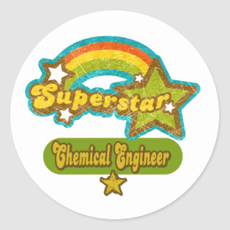 Superstar Chemical Engineer Stickers