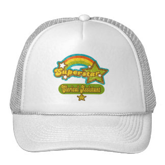 Superstar Clerical Assistant Trucker Hat