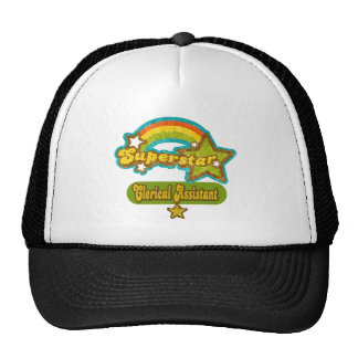 Superstar Clerical Assistant Trucker Hats