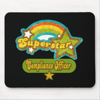 Superstar Compliance Officer Mouse Mat