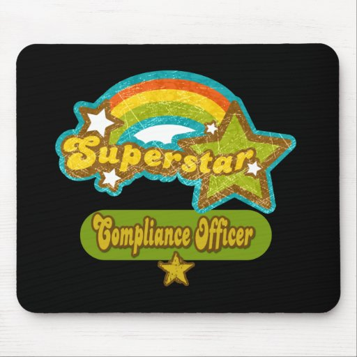 Superstar Compliance Officer Mouse Pads