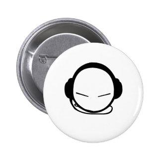 SuperStar Deejay 6 Cm Round Badge
