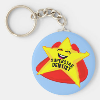 superstar dentist funny keychain
