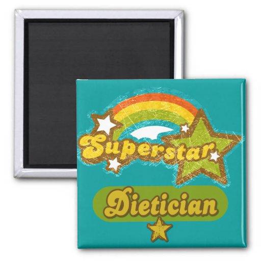 Superstar Dietician Refrigerator Magnets