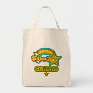 Superstar Diver Canvas Bags