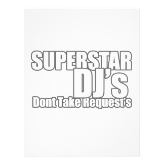 Superstar DJ 21.5 Cm X 28 Cm Flyer