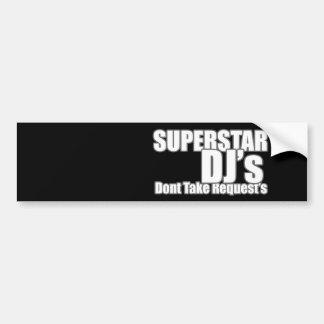 Superstar DJ Bumper Stickers