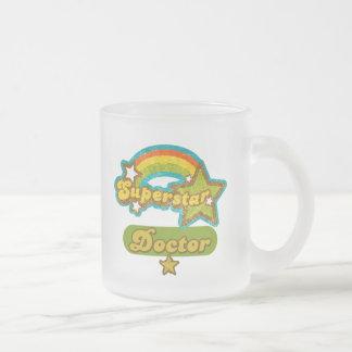 Superstar Doctor Frosted Glass Mug