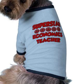 Superstar Economics Teacher Pet Clothes