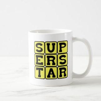 Superstar, Extremely Famous Basic White Mug