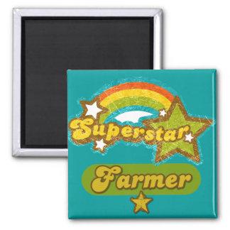 Superstar Farmer Refrigerator Magnet
