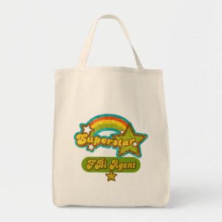 Superstar FBI Agent Canvas Bag