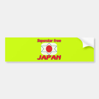 Superstar from Japan Bumper Stickers