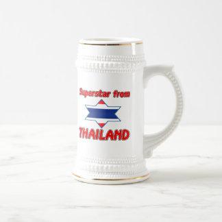 Superstar from Thailand Beer Steins