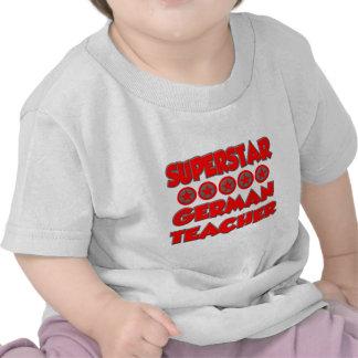 Superstar German Teacher T Shirts