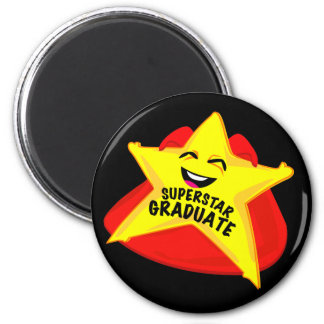 superstar grad funny graduation day magnet!