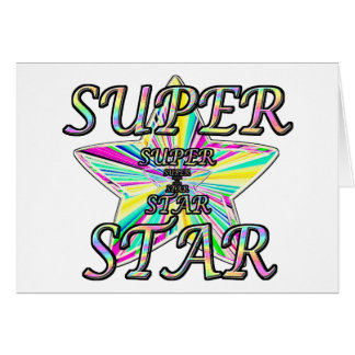 Superstar Greeting Card