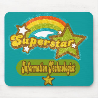 Superstar Information Technologist Mouse Pad