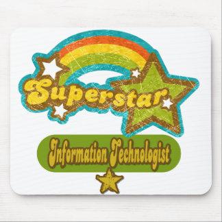 Superstar Information Technologist Mousepads