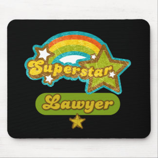 Superstar Lawyer Mouse Mat