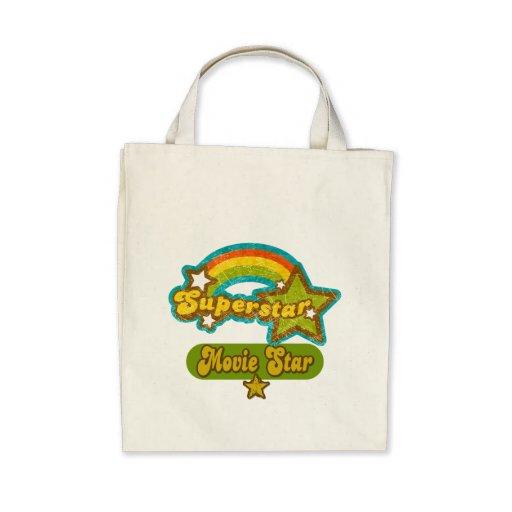 Superstar Movie Star Canvas Bags