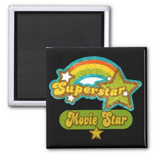 Superstar Movie Star Refrigerator Magnet