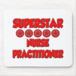 Superstar Nurse Practitioner Mouse Pad