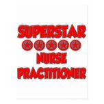 Superstar Nurse Practitioner Postcard