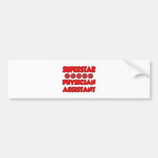 Superstar Physician Assistant Bumper Sticker