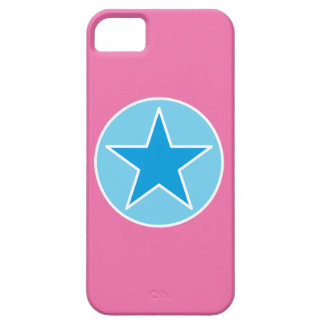 SuperStar Pink and Blue iPhone 5 Cover
