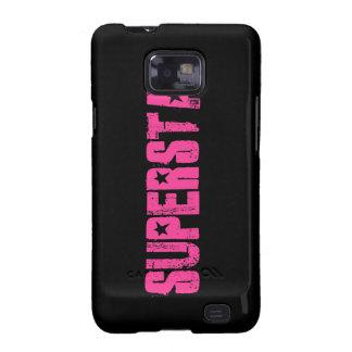 Superstar pink galaxy SII case