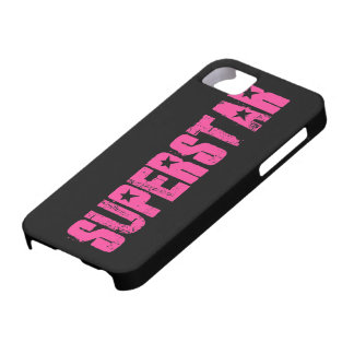 Superstar pink iPhone 5 covers