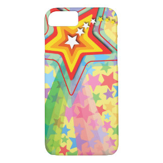 Superstar Rainbow Fun Colorful Shooting Star Case