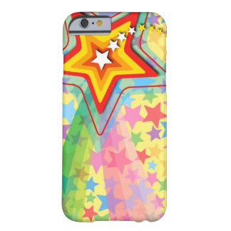 Superstar Rainbow Fun Colorful Shooting Star Case Barely There iPhone 6 Case