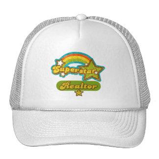 Superstar Realtor Mesh Hats