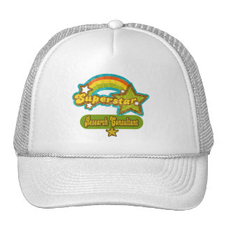 Superstar Research Consultant Trucker Hats
