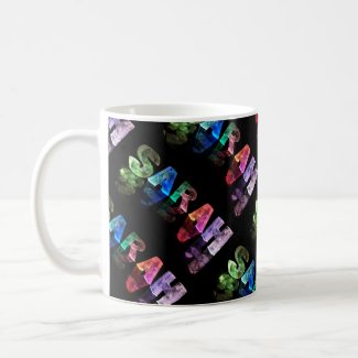 Superstar Sarah - Name in Lights (Photograph) Mug