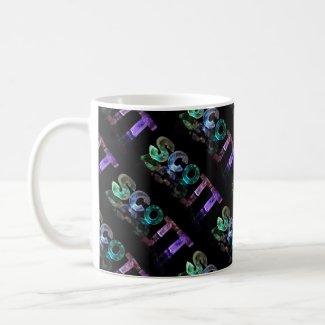 Superstar Scott - Name in Lights (Photograph) Coffee Mugs