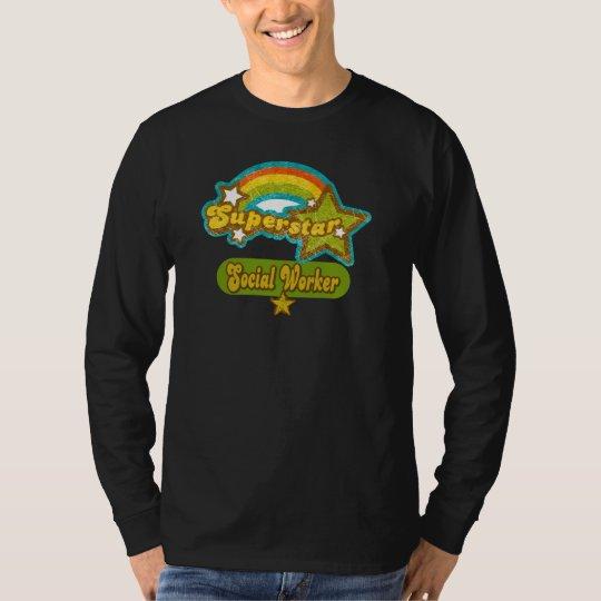 Superstar Social Worker T-Shirt