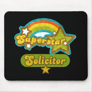 Superstar Solicitor Mouse Mat