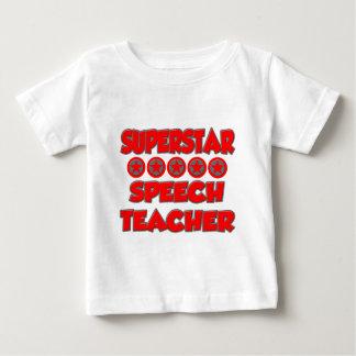 Superstar Speech Teacher Baby T-Shirt