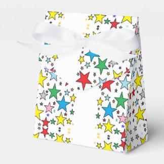 Superstar Stars Happy Pattern Paper Favor Gift Box