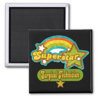 Superstar Surgical Technician Square Magnet